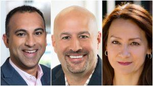 Navin Shenoy, Gregory Bryant and Sandra Rivera.