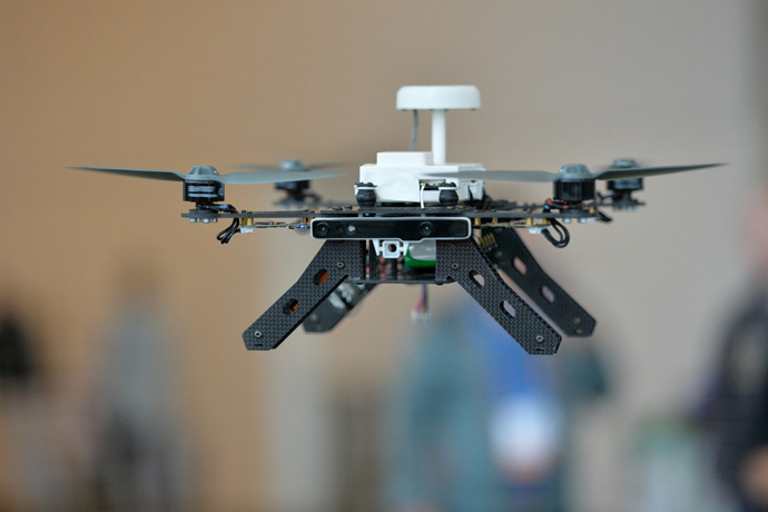 A ready-to-fly drone that uses Intel's Aero Compute Board and