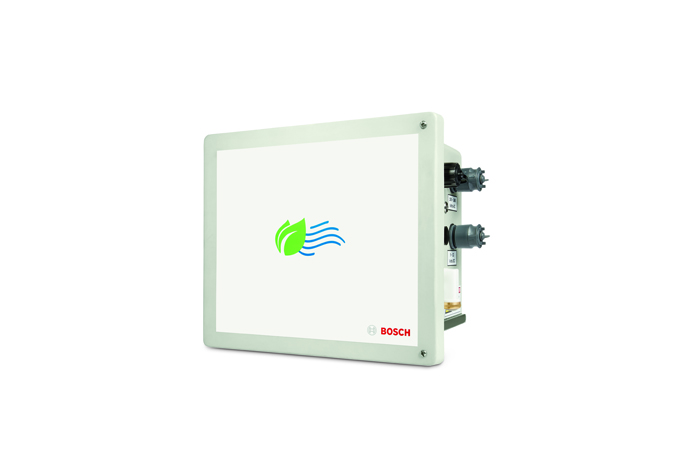 Bosch Air Quality Micro Climate Monitoring System (MCMS): Front with knobs