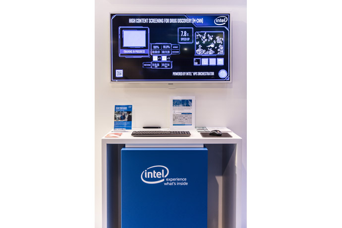 Intel demonstrated how high-content imaging application harnesse