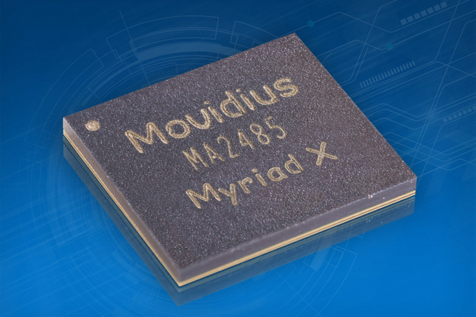 The Movidius™ Myriad™ X VPU delivers artificial intelligence at