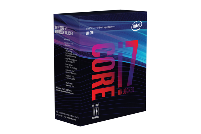 Intel announces the desktop processors of the 8th Gen Intel Core