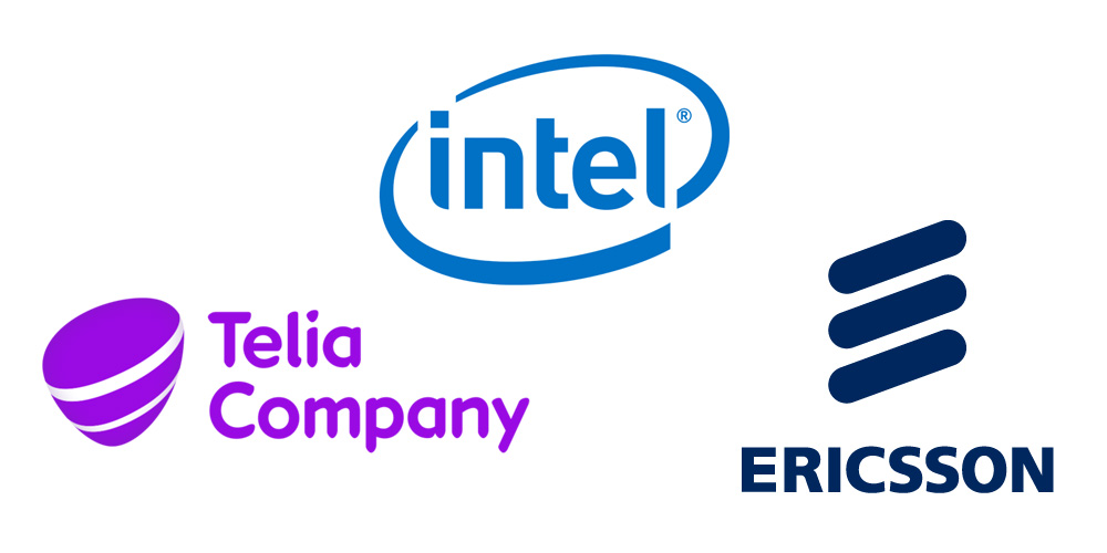 telia ericsson and intel first to make 5g real in europe intel