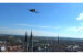 The Intel Falcon 8+ commercial inspection drone inspects a histo