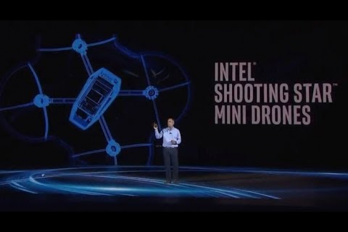 Introducing Intel Shooting Star Mini -- Star of the Indoor Light Show
