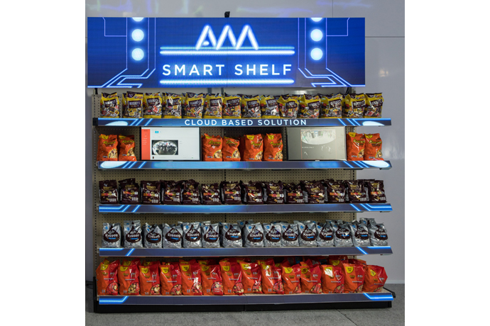 Hershey Co. uses Intel-based AWM Smart Shelf to keep retailers i