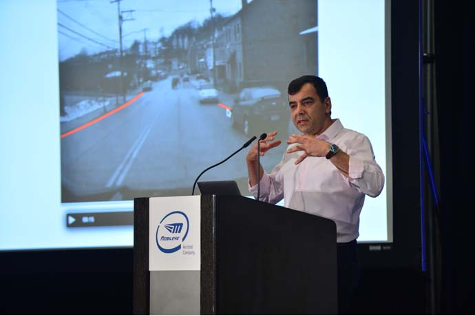 Professor Amnon Shashua, senior vice president of Intel and CEO/