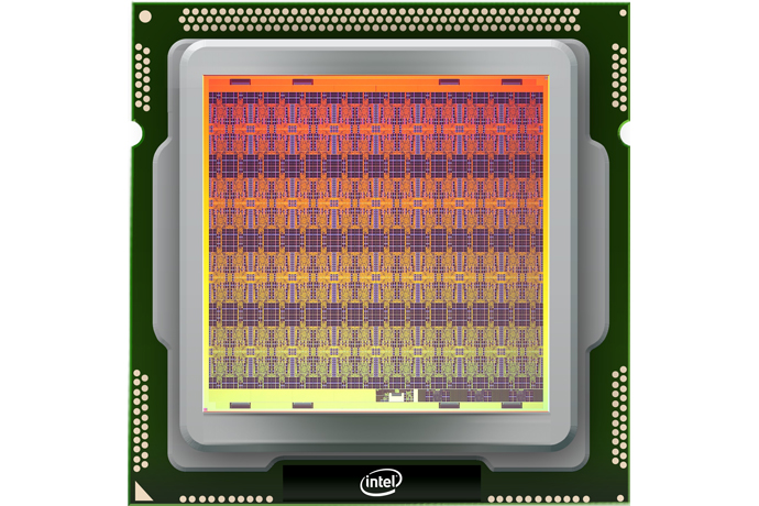 Intel Corporation's self-learning neuromorphic research chip, co