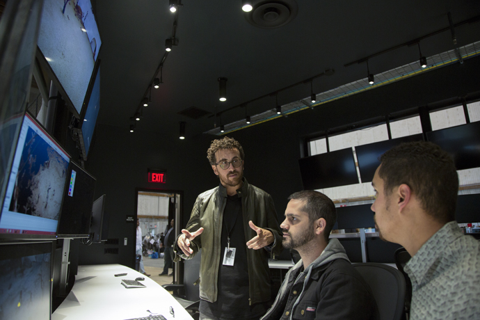 The control rooms at Intel Studios provide a dedicated space for