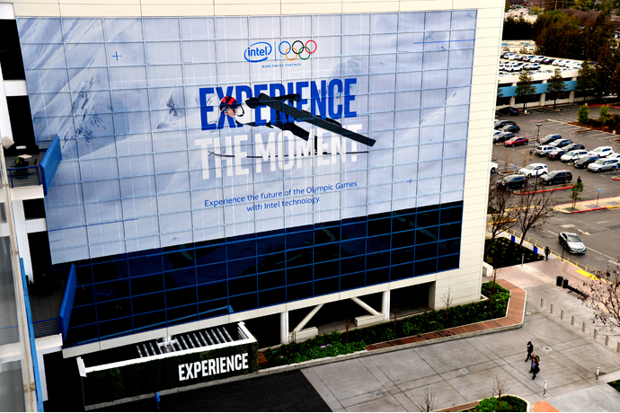 Intel Corporation celebrates the 2018 Olympic Winter Games Pyeon
