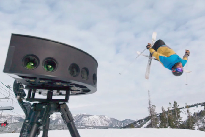 Intel's Virtual Reality Technology at the 2018 Olympics (B-roll)