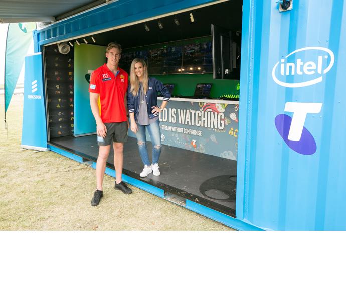 Intel Australia 5G esports 2