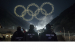 Intel Shooting Star drones form the Olympics rings as part of th