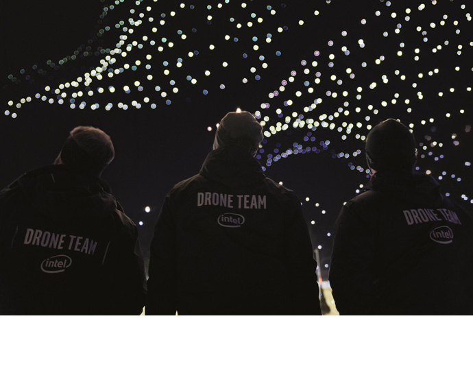 Intel 2018 Olympics Drone Ligh Show 2