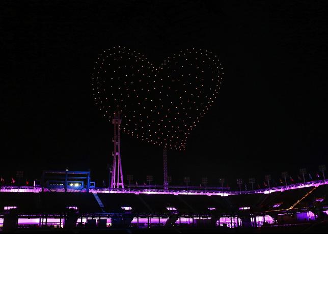 Intel Drone Olympics Closing 12
