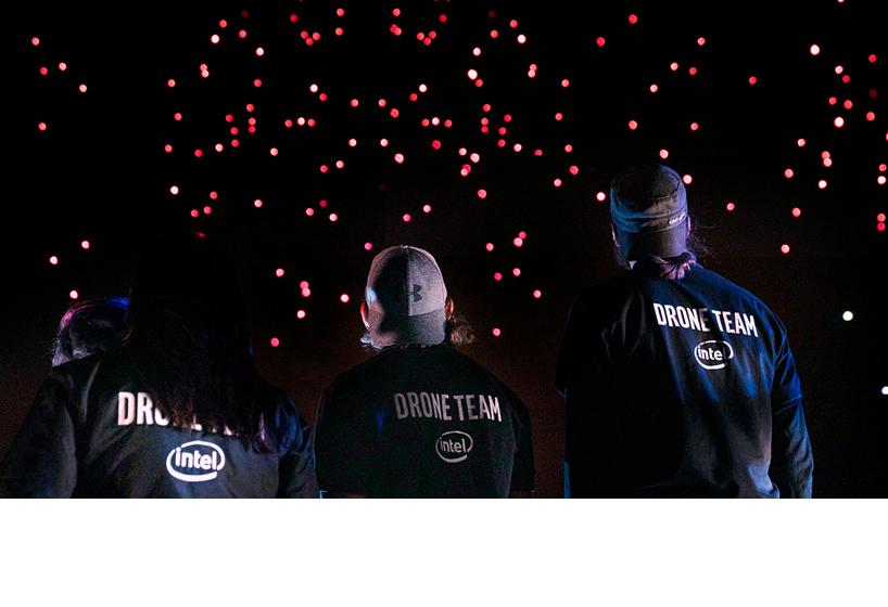 Intel 50th drone show 4