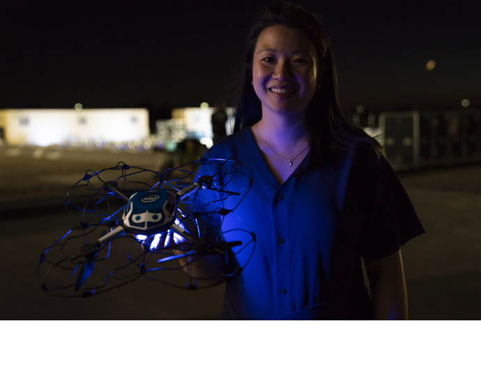 Intel 50th drone show 5