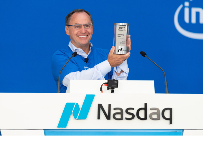 Intel Nasdaq 50th 2
