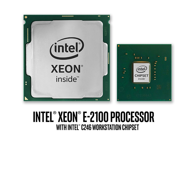 Intel Xeon E 2100 3