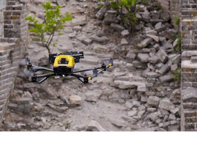 Intel drone Great Wall 1
