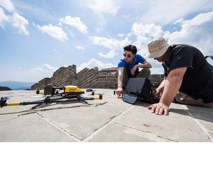 Intel drone Great Wall 2