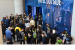 Visitors to Intel Corporation's booth at CES 2019 on Tuesday,