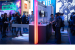 Visitors tour Intel's booth at MWC 2019 on Wednesday, Feb. 27, 2
