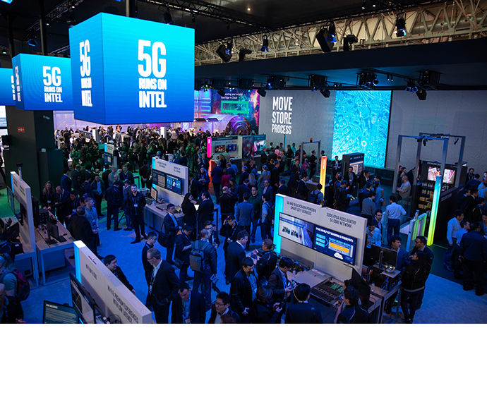Intel MWC Booth 1 12