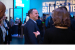Bob Swan, Intel's chief executive officer, tours the company's b