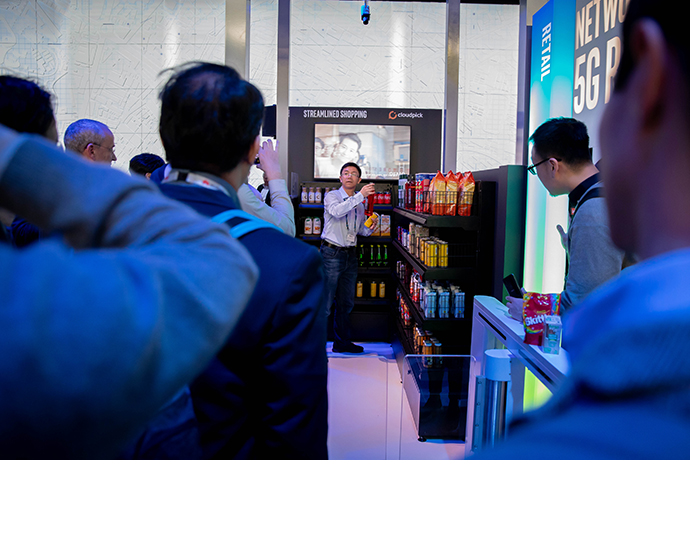 Intel MWC Booth 1 2