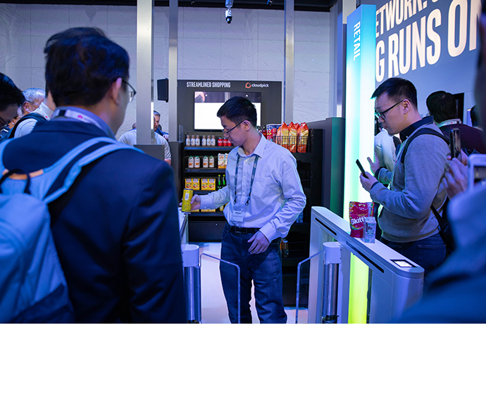 Intel MWC Booth 1 3