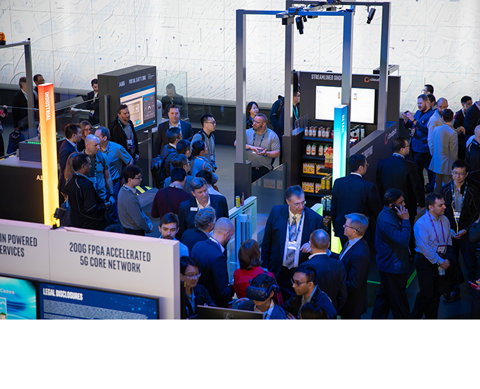 Intel MWC Booth 1 4