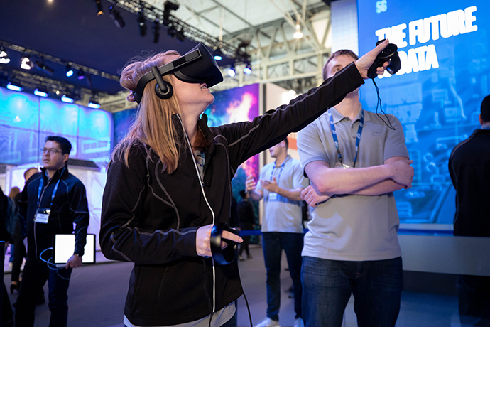 Intel MWC Booth 1 5