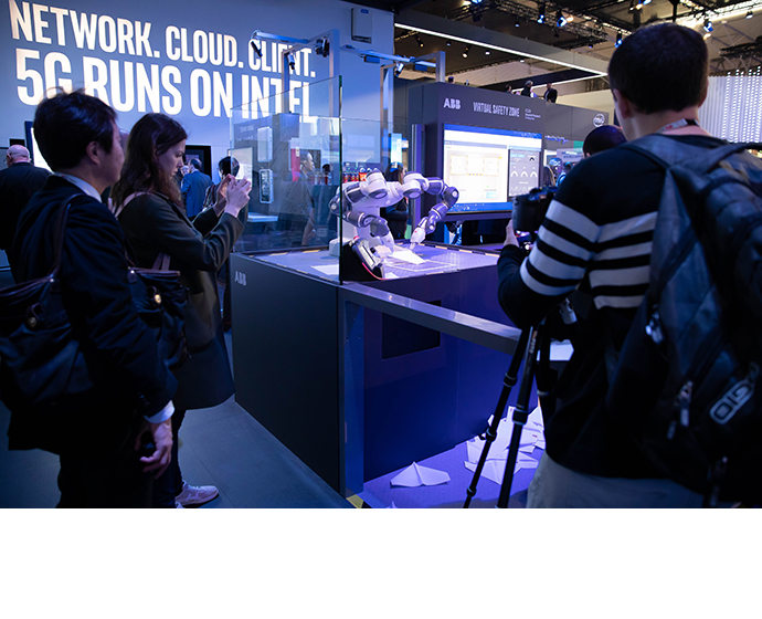 Intel MWC Booth 1 9