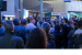 Visitors to Intel's booth at MWC 2019 on Tuesday, Feb. 26, 2019,