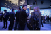 Visitors tour Intel's booth at MWC 2019 on Tuesday, Feb. 26, 201