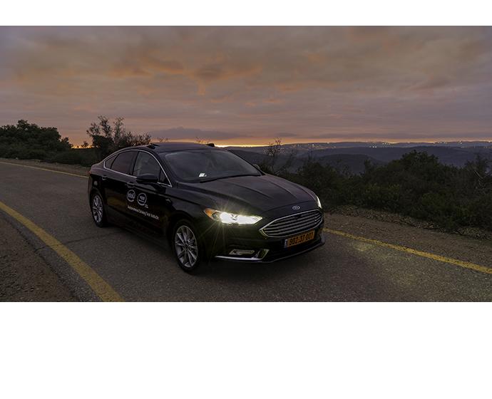 Mobileye autonomous car 1