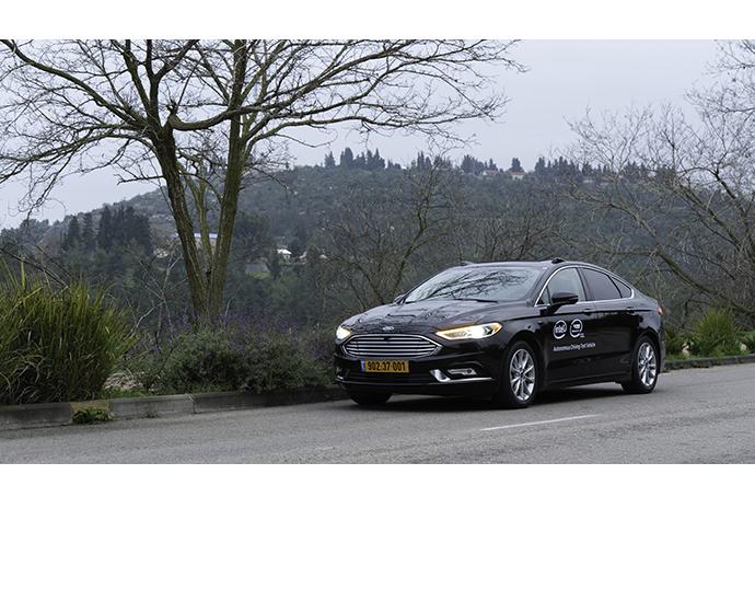 Mobileye autonomous car 4