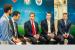 From left: Jonathan Levene, managing director business developme