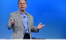 Bob Swan, Intel chief executive officer, speaks during Intel Cor