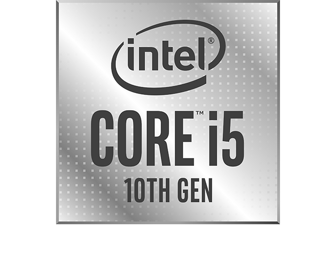 Intel 10th Gen Core i5 badge 1