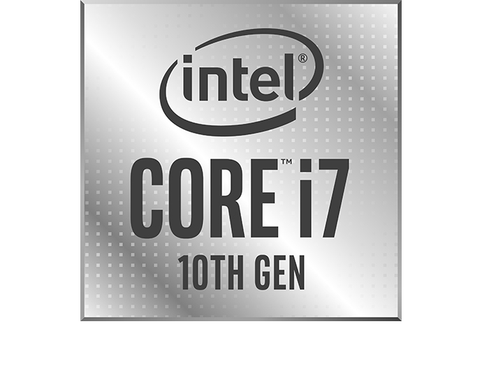 Intel 10th Gen Core i7 badge 1