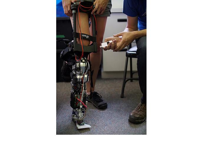 Loihi prosthetic leg