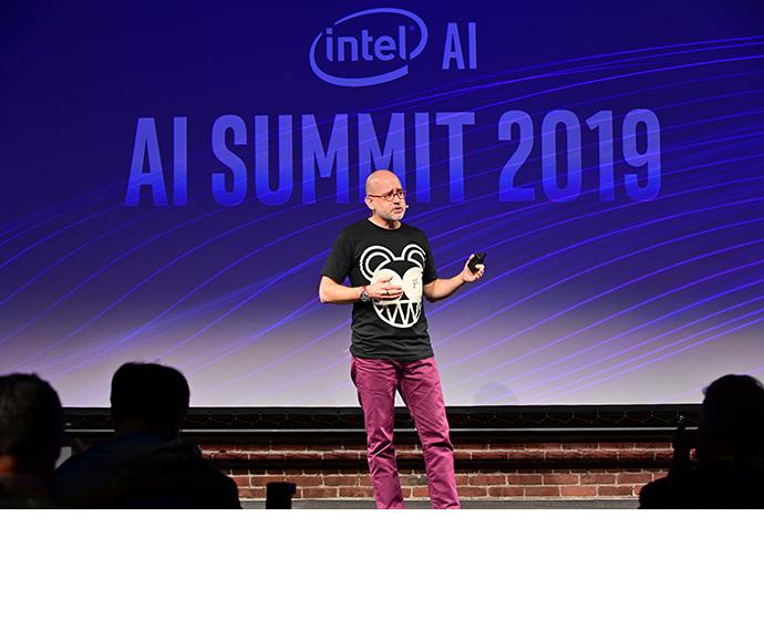 Intel AI Summit Ballon 2