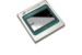 A photo shows the Intel Nervana NNP-T for training packaged chip
