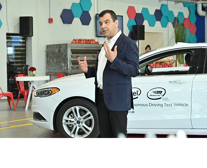 Mobileye Drives Shashua 2