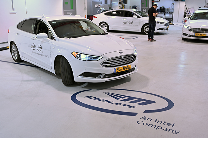 Mobileye Drives Test Drives 2