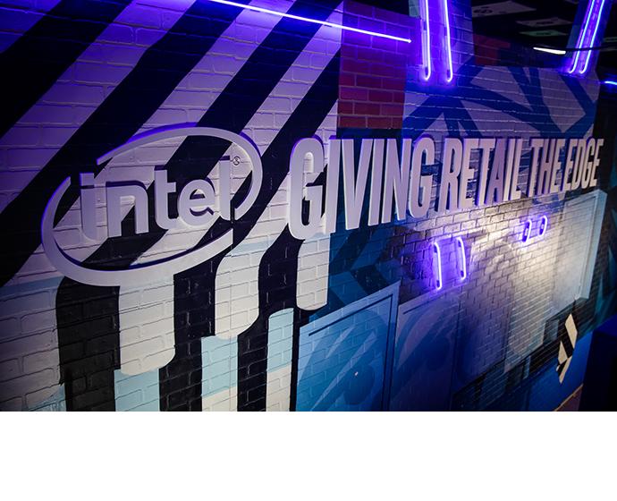 Intel 2020 NRF Booth