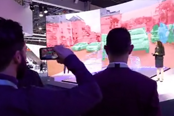 2020 CES: Mobileye Booth (B-Roll)