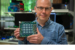 Rich Uhlig, managing director of Intel Labs, holds one of Intel
